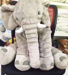 Elephant Stuffed Plush Pillow