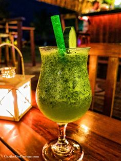 Isla Mujeres- Have you tried the new signature drink at Marina Paraiso? It is xtabentun liqueur, mint, cucumber & lime, and is AWESOME! We had drinks at the bar before enjoying an amazing dinner at Barlito's new location!
