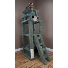 The awe-inspiring design of the New Cat Condos Designer Cat Pagoda provides your cats with an activity center sure to keep them busy for hours on end. Pet Furniture, Furniture Deals, Cat Tree Designs, Le Palais, Palais Royal, Cat Activity, Cat Playground, Sisal Rope, Cat Climbing