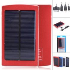 Brand-new-10000mAh-Environmental-Solar-Panel-USB-Power-Bank-Battery-with-Indicator-LightsDouble-Outputs-4-Colors-0