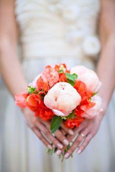 bouquet idea - peonies and freesia?