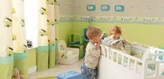 Fantasyroom | Babyzimmer und Kinderzimmer in grün einrichten und gestalten: Kinderzimmerideen
