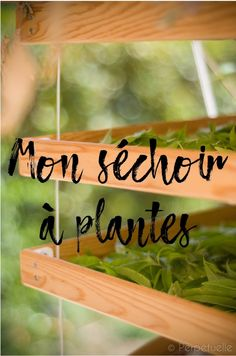 Construction d'un séchoir à plantes - Perpétuelle Herb Garden, Garden Plants, Home And Garden, Supermarket, Garden Online, Construction, Plantar, Green Life, Beautiful Gardens