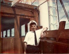 Second mate om bord in Foldenfjord 7.000.ton cargoship my second boat