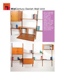 midcentury modern wall unit kits - Google Search