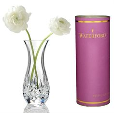 A perfect piece of artistry for a table, desk, or mantel. This exquisite fine #crystal continues the legendary tradition of #Waterford craftsmanship. The signature Lismore cutting pattern sparkles and shines in even the most minimal light.  https://www.menusandmusic.com/Waterford_Vase_p/14s-0907.htm  #MenusAndMusic