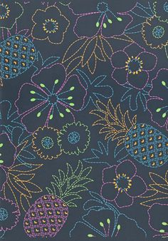 print & pattern Motif Design, Surface Pattern Design, Print Design, Iphone 6 Wallpaper, Summer Prints, Nature Prints, November 2015, Kids Prints, Mixing Prints