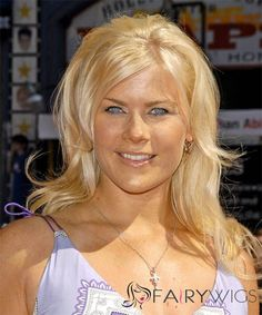 View yourself with Alison Sweeney hairstyles and hair colors. View styling steps and see which Alison Sweeney hairstyles suit you best. Formal Hairstyles For Long Hair, Easy Hairstyles, Straight Hairstyles, Alison Sweeney, Hair Styles 2014, Long Hair Styles, Alison Angel, Human Wigs, Blonde Women