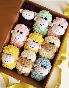 100 Best Cute Crocheted Amigurumi Patterns Ideas Pictures Little sheep amigurumi toys. amigurumi for beginners; Amigurumi World Best Crochet Crochet Whale, Cute Crochet, Crochet Animals, Unique Crochet, Crochet Amigurumi Free Patterns, Crochet Dolls, Crochet Animal Amigurumi, Crocheted Toys, Easy Knitting Projects