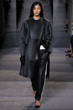 On Fashion and Things: Fall Winter 2013 Trend: Loose Leather Trousers