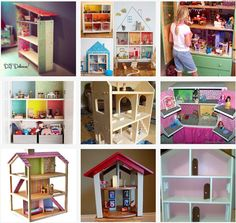 9 DIY Dollhouses