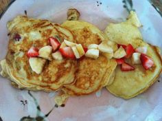 Strawberry Banana Pancakes   Cooking with a Wallflower