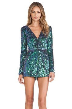 Heather Sequin Romper