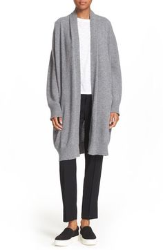 Vince Open Front Cashmere Knit Coat available at #Nordstrom