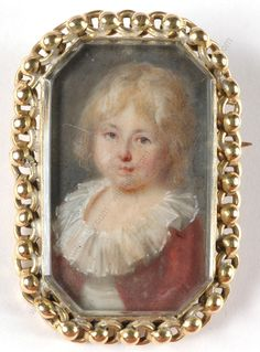 Marie-Antoinette's younger son, her chou d'amour . The prince is probably three or four in this picture.     Dauphin Louis-Charles a coupl...