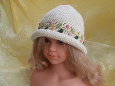 cappello lana uncinetto bimba, by maglieria magica, 15,50 € su misshobby.com