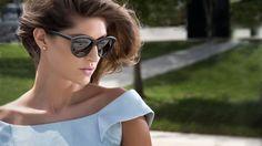 Gold Wood, Cat Eye Sunglasses, Eyes, Fashion, Moda, Fashion Styles, Fashion Illustrations, Cat Eyes