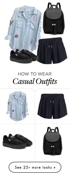 """""""Casual"""" by secret-girl02 on Polyvore featuring Rails, adidas Originals and Puma"""