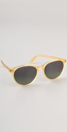 really into light colored sunnies this season