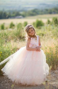 NEW! The Juliet Dress in Pink Blush with Flower Sash - Flower Girl Dress by littledreamersinc on Etsy https://www.etsy.com/listing/242742910/new-the-juliet-dress-in-pink-blush-with