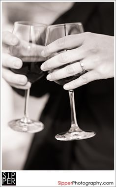 wine engagement photos - Google Search