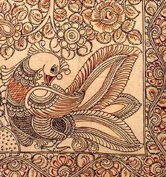 Fantasy Land - Kalamkari Cotton Painting
