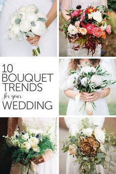 10 Bouquet Trends for Your Wedding from mywedding.com