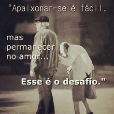 O desafio de amar ♥ #meameoumedeixe #relacionamento #amor