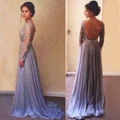 Prom Dress,New Custom Backless Prom Dress, Backless Evening