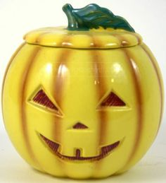 shopgoodwill.com: Abingdon USA 674 Pumpkin Halloween Cookie Jar