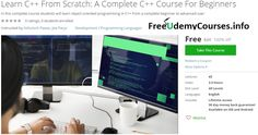 [100% Off #Udemy Course] Learn #C From Scratch: A Complete C Course For Beginners   Course Description  Welcome To Learn C From Scratch: A Complete C Course For Beginners!   Watch the Promo VideoTo SeeHow You Can Begin Learning C From Scratch Today!   This Course is MASSIVE!You receive over4 hours of video& 45 lectures!   Join Over 100000StudentsWho Have Enrolled In My60Udemy Courses This Year!   3000 Five Star Reviews ShowsStudents Who EnrollAre Getting Real Results…
