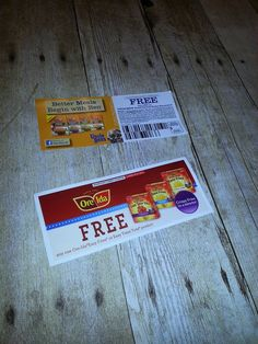 Who doesn't love Free Coupons! I got two valuable coupons in my #NurtureVoxBox this month! One for a FREE Uncle Ben's Ready Whole Grain Medley™ and one for a FREE Ore-Ida Extra Crispy Easy Fries! Thanks @Influenster for sending me these products complimentary for testing purposes only!