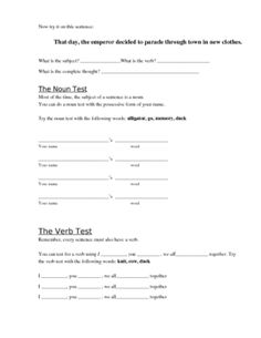 An introduction to sentences and fragments. The definition of a sentence is presented, using the three essential elements: subject, verb and comple...