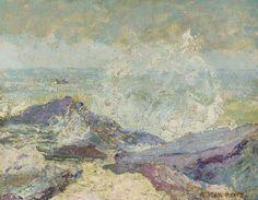 Crashing Waves, Milton Avery, s.d.