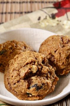 """Oatmeal Pumpkin Cookies 