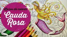 Cauda Rosa da Sereia - Oceano Perdido - Mermaid pink tail - Lost Ocean
