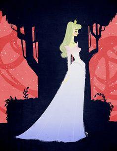 Sleeping Beauty concept art.
