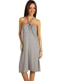 Tommy Bahama - Tambour Triangle Halter Dress (Vapor) - Apparel, $128.00 | www.findbuy.co/brand/tommy-bahama #TommyBahama