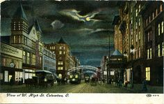 1908 postcard of Columbus