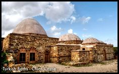 Turkish Baths, Chios Castle-Greece