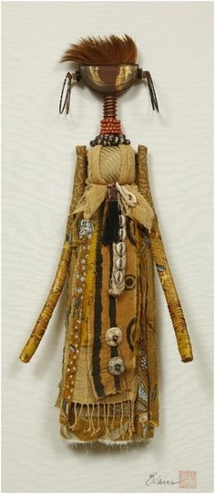 Art Dolls. Shelly Rapp Evans