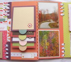 ~flip pics, good for chipboard albums~ Interactive mini album