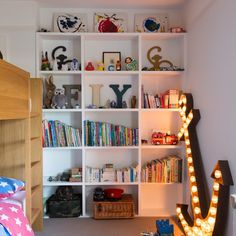 Boy's bedroom with storage   Traditional design ideas   Homes & Gardens   Housetohome.co.uk