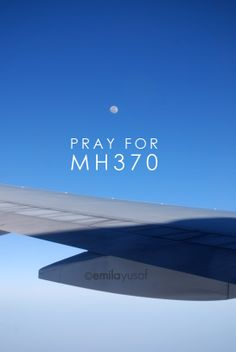 MH370. Such a tragedy, I pray for all the rescue teams and families involved