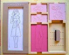 Barbie fashion plates