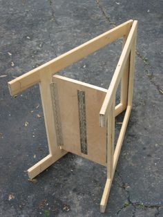 Very Simple Folding Sawhorses Woodworking Pinterest