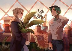 Magnus Chase and Alex Fierro Harry Potter au Percy Jackson Ships, Percy Jackson Fan Art, Percy Jackson Memes, Percy Jackson Fandom, Rick Riordan Series, Rick Riordan Books, Magnus Chase Books, Hogwarts, Slytherin