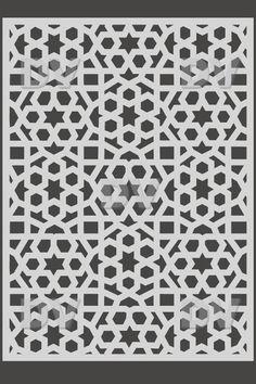 DS268 - Sticker moucharabieh
