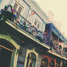New Orleans Square Mardi Gras Decorations
