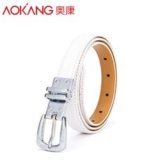 Aokang New Fashion Brand Belts For Women white black Pin Buckle Split Leather Womens Belt Strap Ceinture Cintos Couro $55.97   #instafashion #love #instastyle #stylish #ootd #dress #model #streetstyle #shopping #styles #swag #beautiful #style #sweet #beauty